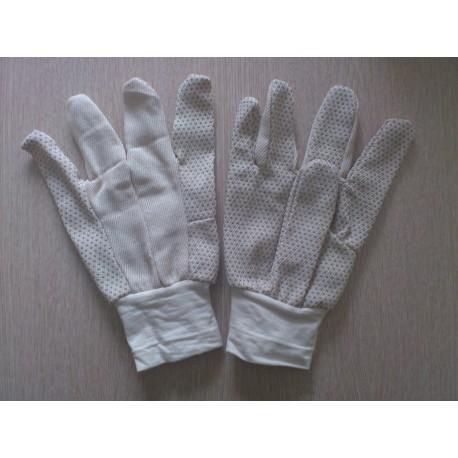 Перчатки шитые хб с ПВХ