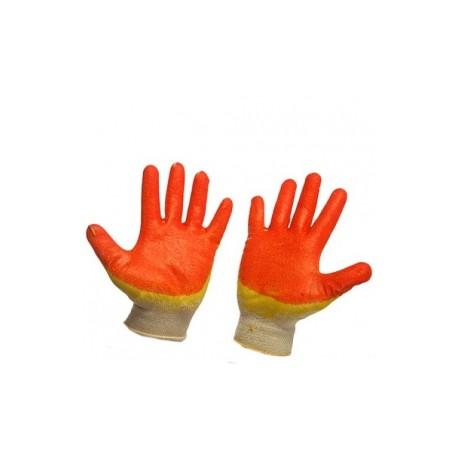 Перчатки латексные двойной облив